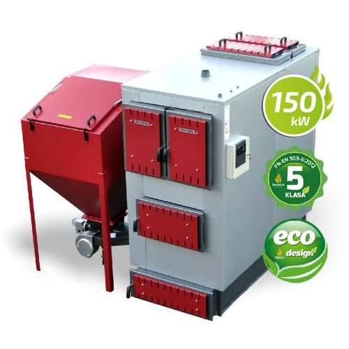 Kocioł 5 klasy ecodesign 150 kW