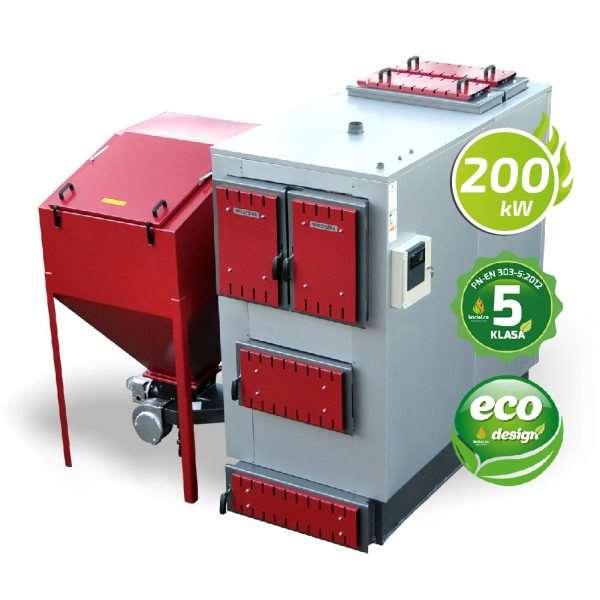 Kocioł 5 klasy ecodesign 200 kW